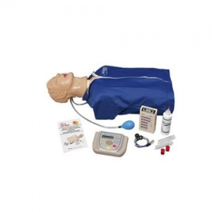 """德国3B Scientific®高级""""Airway Larry""""气道管理躯干万博app最新版,具有除颤特征、ECG模拟和 AED训练功能"""