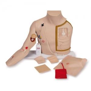 德国3B Scientific®高级胸部导管穿刺护理训练BETVICTOR伟德网址