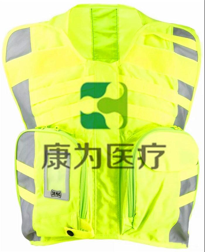 Statpack高级安全背心,可拆卸医疗马甲,救援安全反光背心